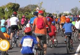 Multitudinaria participación en el Día de la Bicicleta