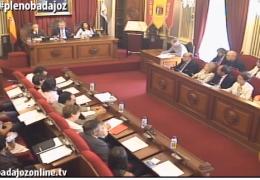 Pleno ordinario de octubre 2015 del Ayuntamiento de Badajoz
