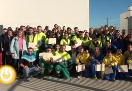 El alcalde asiste a la clausura del proyecto Badajoz @porta 2014