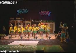 Yo no salgo en la Final del Concurso de Murgas del Carnaval de Badajoz 2016