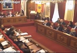 Pleno ordinario de enero 2016 del Ayuntamiento de Badajoz