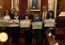 """Entregados los premios del concurso """"Dibujo Badajoz, la ciudad en la que me gustaría vivir"""""""