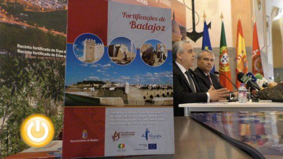 Presentado el material promocional Elvas-Badajoz
