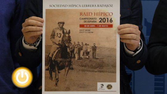 Badajoz celebra el Campeonato de España de Raid 2016 Absoluto y Jóvenes Jinetes