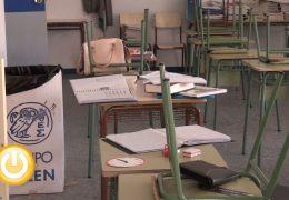 El alcalde tacha de chapuza la ampliación del colegio de Gévora