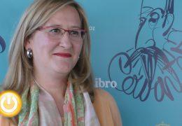 Luz Gabás presenta en Badajoz 'Regreso a tu piel'