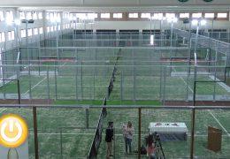 Inauguradas las primeras instalaciones de Pádel Indoor en Badajoz