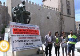 La oposición reitera su apoyo al exempleado municipal