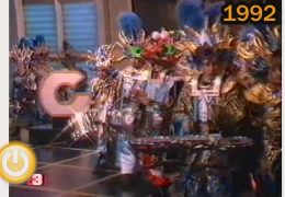 Te acuerdas: Carnaval 1992 visita a Antena 3