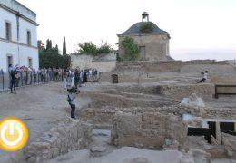 Las últimas obras en la alcazaba dejan al descubierto un importante yacimiento arqueológico