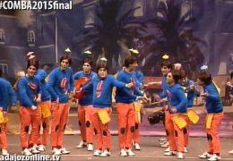Los Camballotas en la Final del Concurso de Murgas del Carnaval de Badajoz 2015