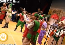 Los Water Closet en la Final del Concurso de Murgas del Carnaval de Badajoz 2015