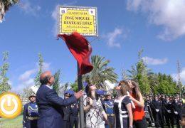 Inaugurada la placa en homenaje a José Miguel Benegas