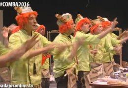 Murgas Carnaval de Badajoz 2016: La Caidita en preliminares