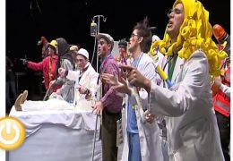 Murgas Carnaval de Badajoz 2010: Los Sikitrakys en preliminares