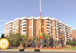 Badajoz celebra el Homenaje a la Bandera y a los Caídos