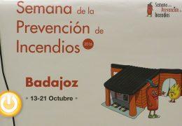 Badajoz acogerá del 13 al 21 de octubre la IV Semana de la Prevención de Incendios