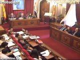 Pleno ordinario de octubre de 2016 del Ayuntamiento de Badajoz