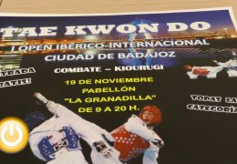 500 deportistas participarán en el I open internacional Ciudad de Badajoz de Taekwondo