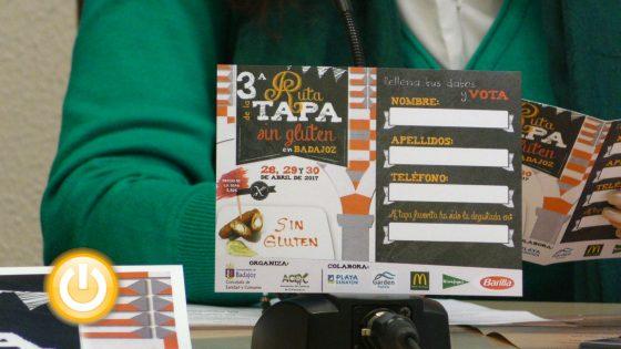 Dieciocho establecimientos participarán en la III Ruta de la Tapa Sin Gluten