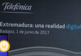 Fragoso inaugura la Jornada 'Extremadura: una realidad digital'