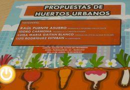 PSOE convoca unas jornadas para avanzar en la implantación de huertos urbanos