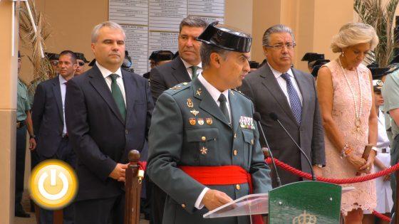 Francisco Espadas, nuevo jefe de la 3ª Zona de la Guardia Civil en Extremadura