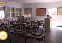 Comienzan las labores de mantenimiento de los colegios