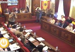 Pleno Ordinario Mayo Ayuntamiento de Badajoz 2017 (completo)