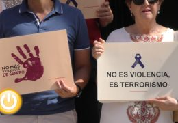 Minuto de silencio contra la violencia de género
