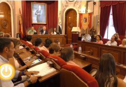 Pleno extraordinario de septiembre de 2017 del Ayuntamiento de Badajoz