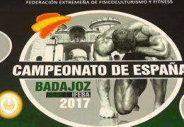 Badajoz, escenario del Campeonato de España de Fisicoculturismo y Fitness