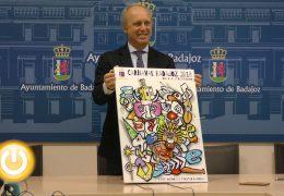 'Colores y Formas' de Iñaki Fernández anunciará el Carnaval de Badajoz de 2018