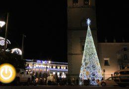 Badajoz ya ha encendido su alumbrado navideño