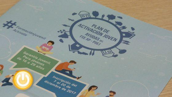 El nuevo Plan de Activación Joven ofrecerá 12 cursos formativos