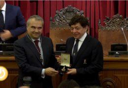 Entrega de la Medalla de la Ciudad a la Banda Municipal de Música de Badajoz