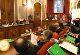 El Consejo Económico y Social de Extremadura celebra su pleno en el Ayuntamiento de Badajoz