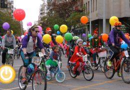 La ciclocabalgata  marca el camino a los Reyes Magos
