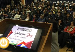 La Universidad de Extremadura celebra este lunes el 'Welcome Day'