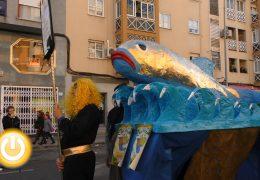 Badajoz despide su Carnaval con el entierro de la sardina