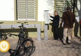 El servicio de alquiler de bicicletas estrena una parada en la barriada de Llera