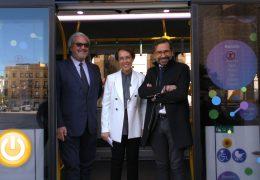 Badajoz prueba un nuevo bus eléctrico