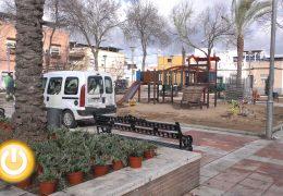 El Ayuntamiento de Badajoz invertirá 300.000 euros en cuatro zonas verdes