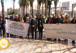 Badajoz rinde homenaje a las víctimas del terrorismo
