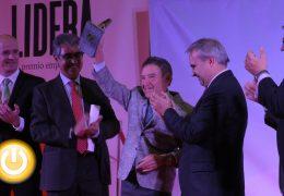 Alfonso Gallardo, Premio Lidera de la Cámara de Comercio de Badajoz