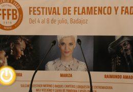 El festival Flamenco y Fado se celebrará en Badajoz del 4 al 8 de julio