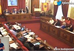 Pleno ordinario de mayo de 2018 del Ayuntamiento de Badajoz