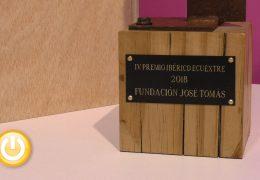 La Fundación José Tomás, Premio Ecuextre 2018