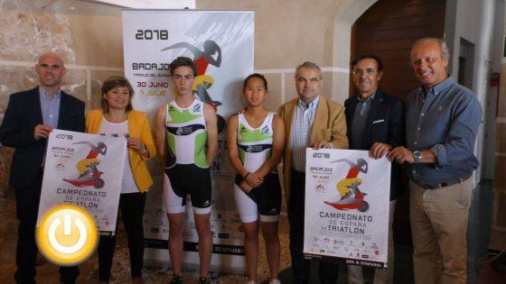 Badajoz será sede del Campeonato de España de Triatlón