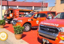 3 nuevos vehículos y vestuario para el Servicio Municipal de Bomberos